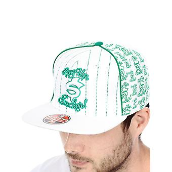 West Coast Choppers White Pay Up Sucker Fitted Cap