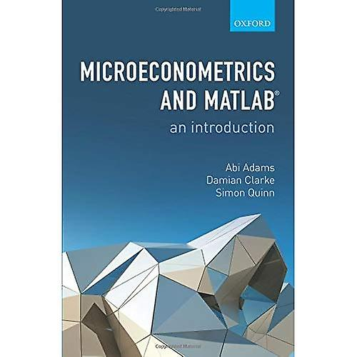 Microeconometrics and MATLAB  An Introduction