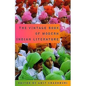 Le livre Vintage de la littérature indienne moderne