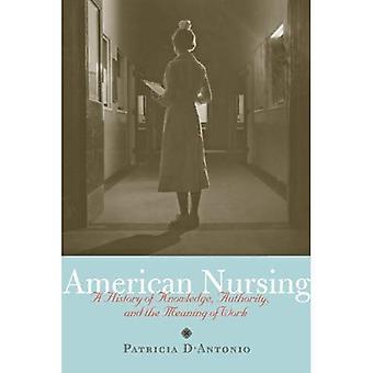 Infirmière américaine: Une histoire de la connaissance, autorité et sens du travail