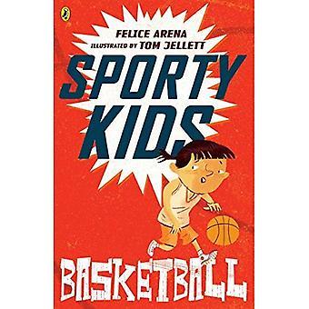 Crianças esportiva: basquete!