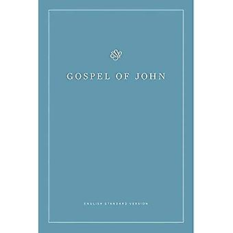 ESV Gospel of John (Paperback, White Design)