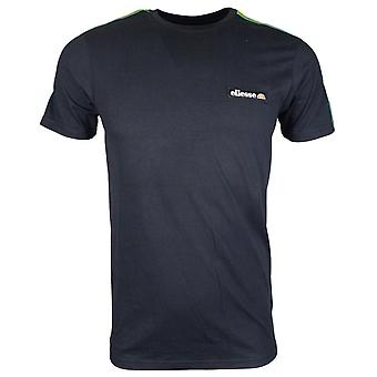 Ellesse Pianto Tee Black Cotton T-shirt