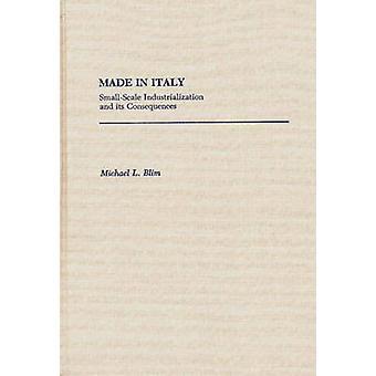 Made in Italie petite industrialisation et ses conséquences par Blim & Michael L.