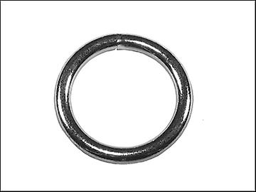 Faithfull Zinc Plated Welded Rings 8mm (Pack of 4)