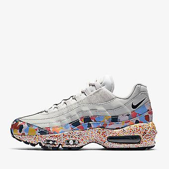 Nike Wmns Air Max 95 SE - Vast Grey / Midnight Navy - Habanero Red Sneaker