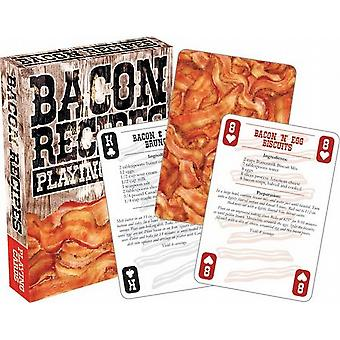 Bacon Recipes set of playing cards    -nm-