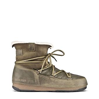 Moon Boot  Women Green Ankle boots -- 2400938032