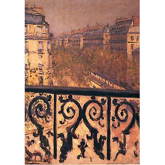 Paris, Gustave Caillebotte, 55(2), x39cm