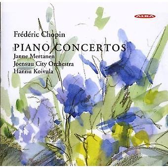 Chopin / Mertanen - Piano Concertos [CD] USA import