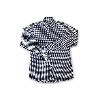 Ingram shirt in blue and white check pattern