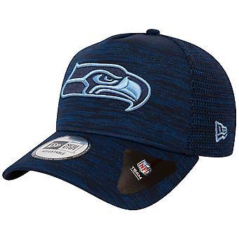 Ny era Trucker Engineered Fit Cap-Seattle Seahawks marinblå