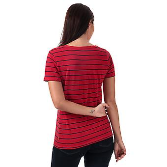 Womens Levi's Cali T-shirt en vanessa chinois rouge