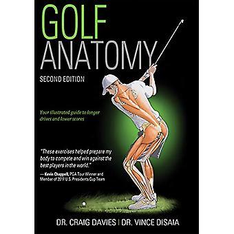 Golf Anatomy 2nd Edition by Craig Davies - 9781492548423 Book