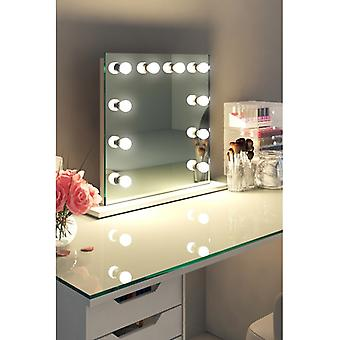 Diamond X Table Top Hollywood make-up spiegel met dimbare LED k89LED