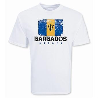 Barbados-Fußball-T-Shirt