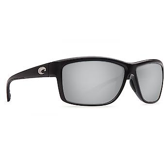 Costa Del Mar Mag Bay Polarized Shiny Black Sunglasses - AA-11-OSCP