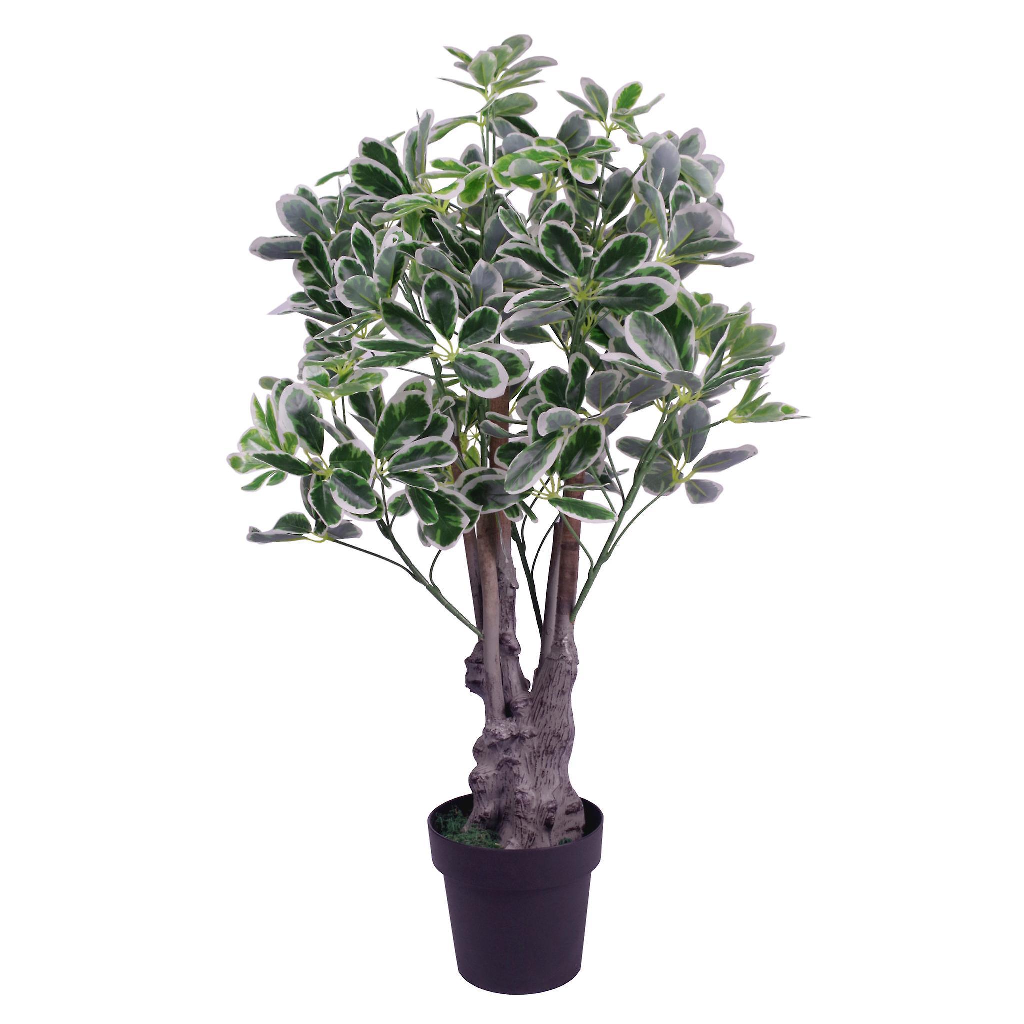 100cm Artificial Umbrella Tree Ficus Indoor Plant - Extra Large