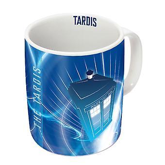 Doctor Who TARDIS In Flight Mug