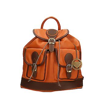 Leather backpack Made in Italy P2083