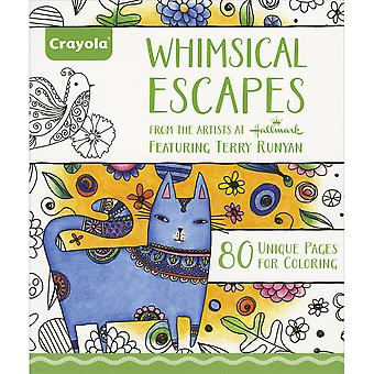 Crayola Whimsical Escapes Coloring Book- 992021