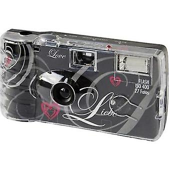 Disposable camera Topshot Love Black 1 pc(s)