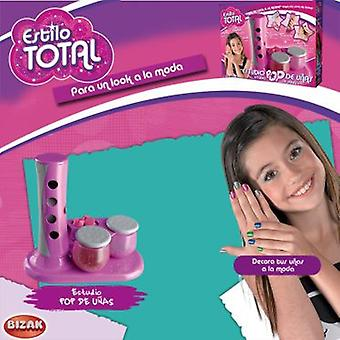 Bizak Pop Nail Studio (Toys , Home And Professions , Makeup And Accessoiries)