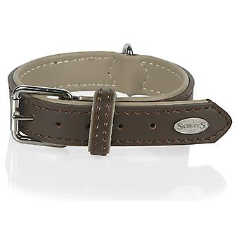 Scruffs Scruffs Heritage Leather Collar 38 -46Cm (Dogs , Walking Accessories , Collars)