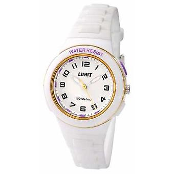Limit Kids White Resin Strap White Dial 5590.24 Watch