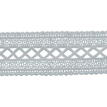 Cross Hatch Galloon Venice Lace Trim 2