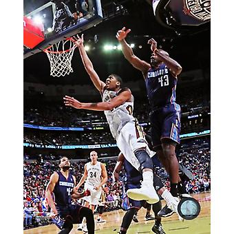 Anthony Davis 2013-14 Action Photo Print