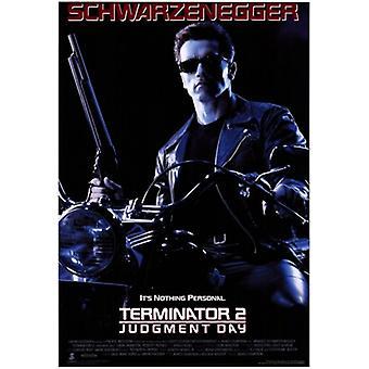 Terminator 2 dom dag filmaffisch (11 x 17)