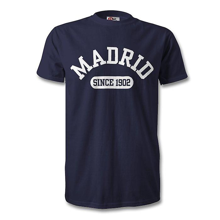 Real Madrid 1902 Established Football Kids T-Shirt