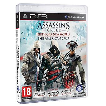 Ubisoft Assassin'S Creed Birth Of A New World Ps3