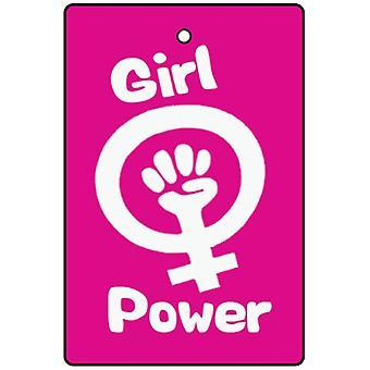 Ambientador de coche de Girl Power