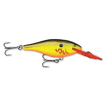 Rapala Shad Rap 07 Fishing Lure - Bleeding Hot Olive