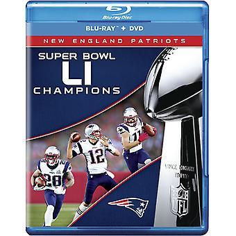 NFL Super Bowl 51 Champions [Blu-ray] USA importerer