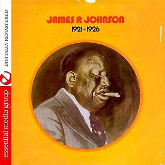 James Johnson P. - 1921-1926 [CD] USA importare