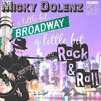 Micky Dolenz - en lille smule Broadway en lille smule Rock & Roll [CD] USA importerer
