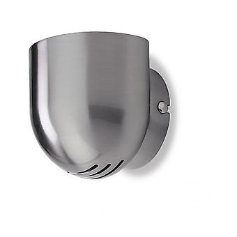 Firstlight Modern Brushed Steel Wall Light
