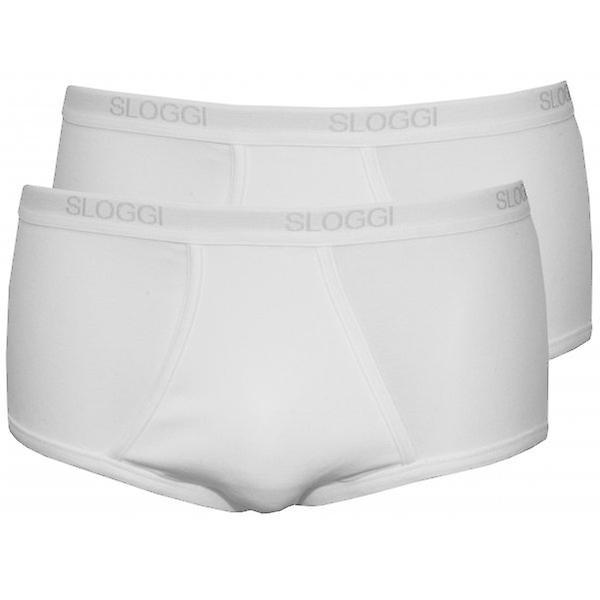 Sloggi 2-Pack Basic Maxi Briefs, White