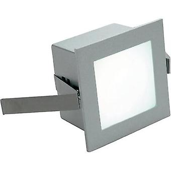 LED flush mount light 1 W Warm white SLV Frame Ba