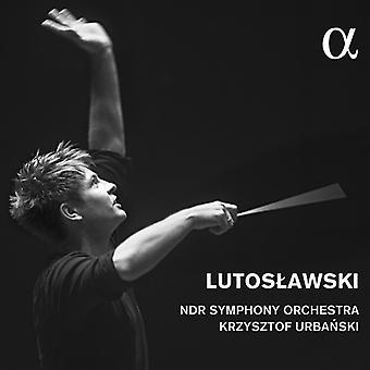 Lutoslawski / Ndr Symfoniorkester / Urbanski, Krzysztof - Lutoslawski: koncert for orkester / symfoni 4 [CD] USA import
