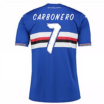 2016 / 17 Sampdoria Home Shirt (Carbonero 7)