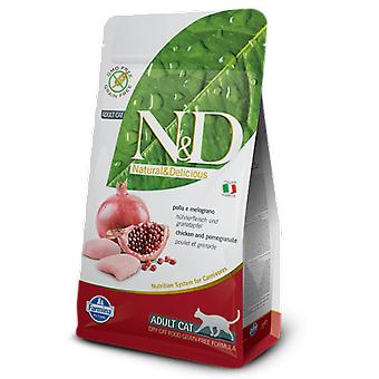 Farmina N&D Grain Free Adult Pollo and Pomegranate (Cats , Cat Food , Dry Food)
