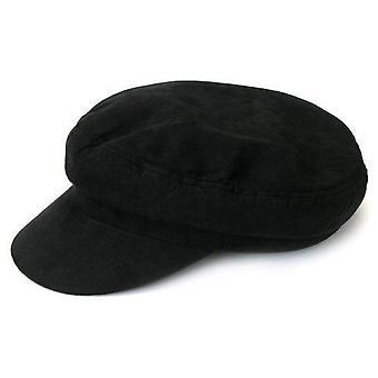 The Beatles Moleskin Hat Black Help Lennon band logo Official Retro
