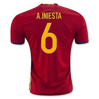 2016-2017 Hiszpania włodarze (A.Iniesta 6)
