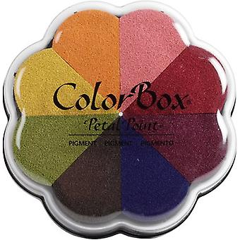 ColorBox Pigment Petal Point Ink Pad 8 Colors-Sunset 080000-08039
