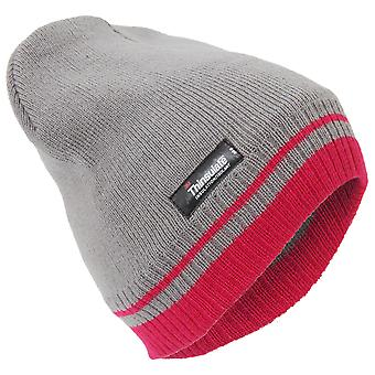 Womens/Ladies Two Tone Thinsulate Thermal Winter Beanie Hat