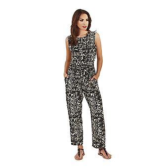 Pistachio Ladies Printed Summer Holiday Full Length Jumpsuit